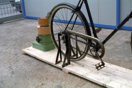 MOLINO MANUALE (Mod. MM-3)  - Applicazione bici